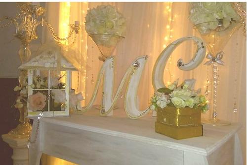 ambientaciones eventos amor eterno casamientos,15....