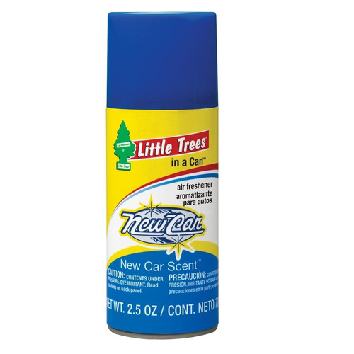ambientador en aerosol in a can little trees