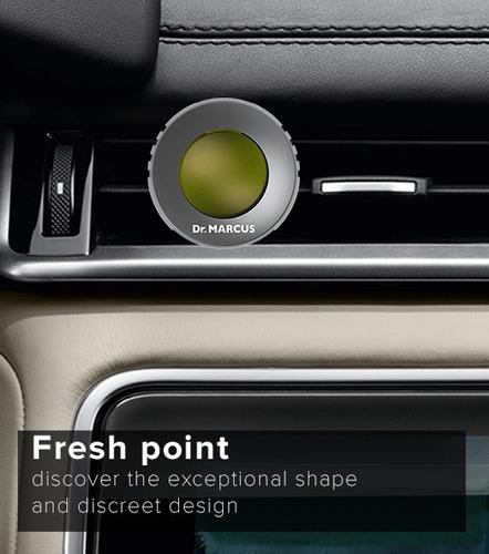 ambientador para carro dr marcus fresh point duo