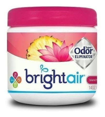ambientador y eliminador de olores bright air solid 14oz