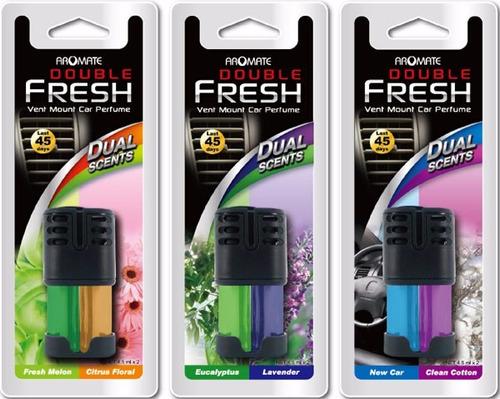 ambiental para vehículo doble aroma
