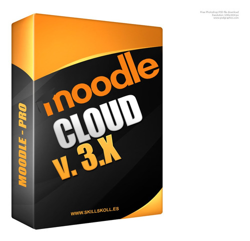 ambiente virtual de aprendizaje moode en la nube - 1 año