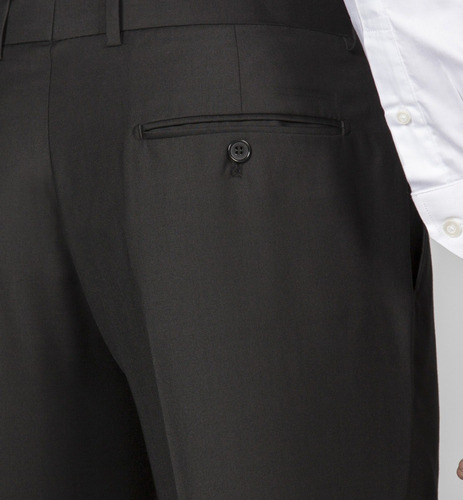ambo cte regular devre liso negro s/pinsas 03d70 hot sale