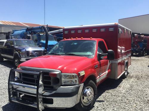 ambulancia 2007 en camion ford f350 diesel