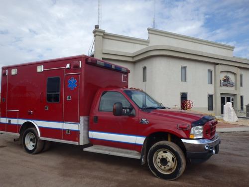ambulancia a diesel ford 2003 folio 9379