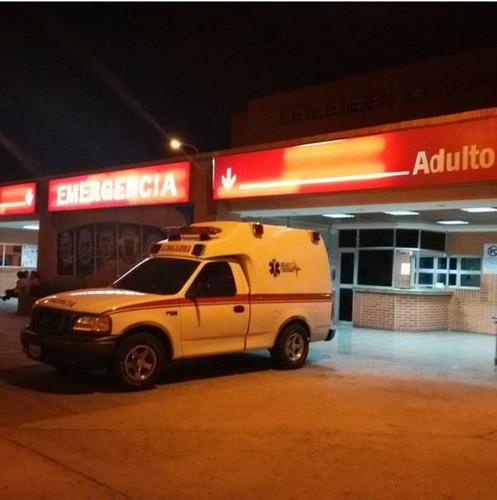 ambulancia basica y uci. eventos, obras y planes vacacionale