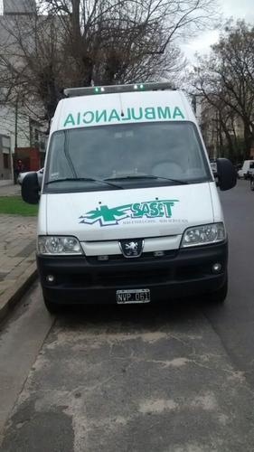 ambulancia boxer peugeot boxer