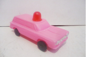 Carrito Antiguo Juguete De Soplado Ambulancia Plastico 9YWEDH2I