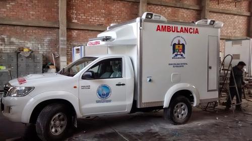 ambulancia, caseta rural nueva, ocasión precio insuperable