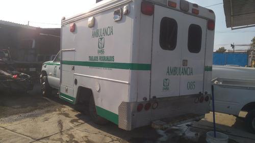 ambulancia chevrolet 3500 2007 sin arrancar