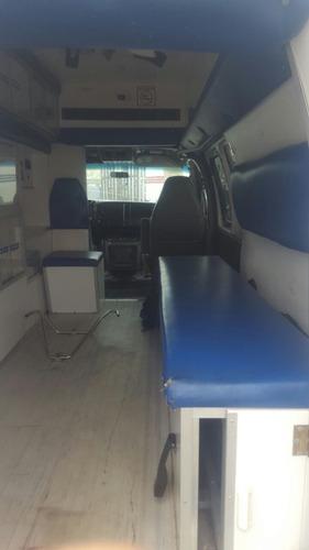 ambulancia chevrolet express año 2007