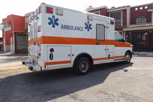 ambulancia chevrolet tipo 3 diesel excelente como nueva 2009