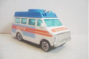 Ambulancia Camioncito De Rescate Juguete Escala Vanette FKJTlc3u1