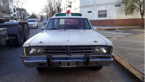 ambulancia dodge coronado