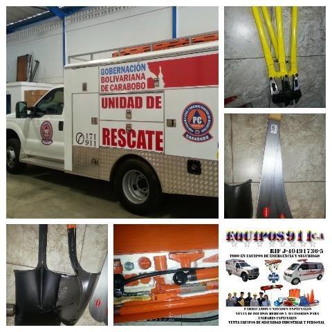 ambulancia fabricacion repotenciacion todo tipo de unidades