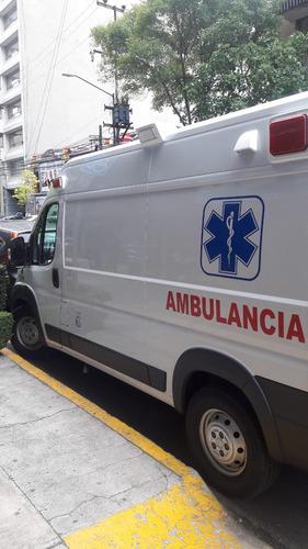 ambulancia fiat ducato 2017