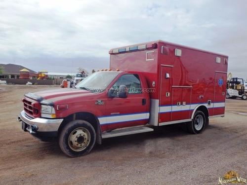 ambulancia ford 2003 a diesel