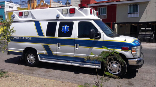 ambulancia ford 2010 tipo 2, impecable 5 unidades