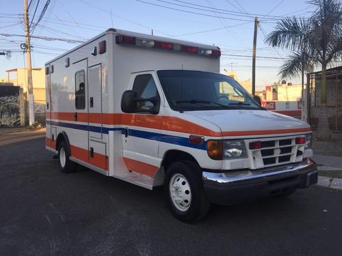 ambulancia ford diesel 2005, excelente super cuidada