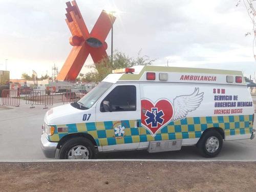 ambulancia ford e350 7.3 nacional