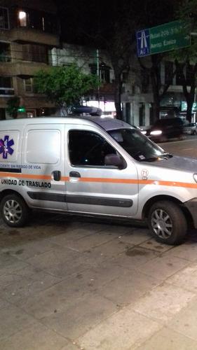 ambulancia kangoo 1.6 16v gnc