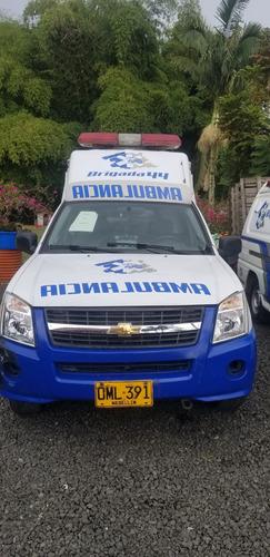 ambulancia luv d max exelentes condiciones listas para rodar