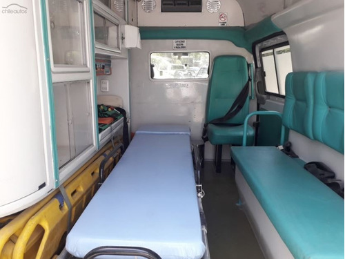 ambulancia mercedes benz vito 2011 ideal motorhome foodtruck