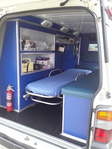 ambulancia mitsubishi panel l600