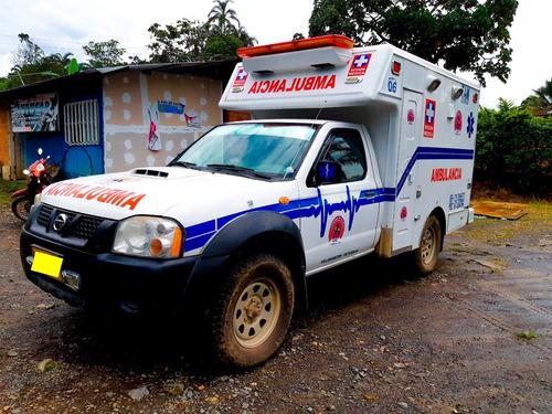 ambulancia nissan 4x4
