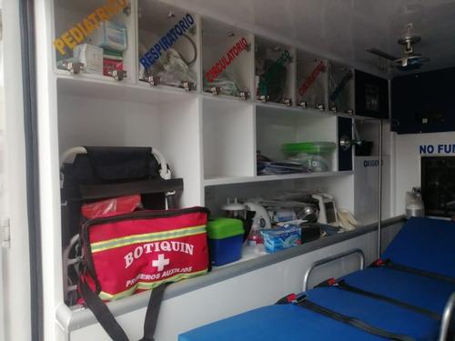 ambulancia nissan frontier
