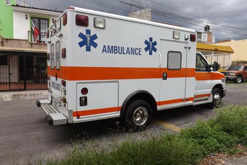 ambulancia particular ford e-350 2008, como nueva, diesel