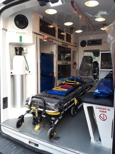 ambulancia promaster 2500  nueva 2018