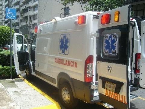 ambulancia ram 2500  nueva 2017