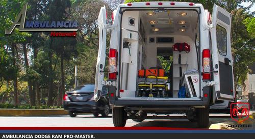ambulancia ram promaster 2017 nueva