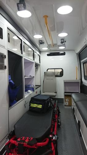 ambulancia ram promaster 2500, aut. 2018