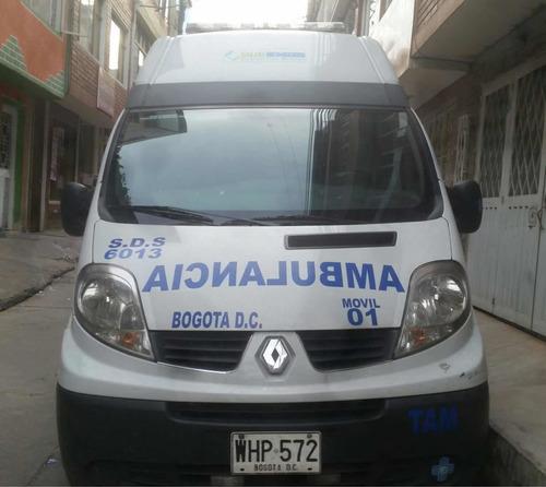ambulancia renault traffic modelo 2015