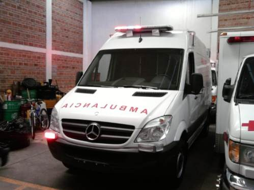 ambulancia tipo 2 mercedes benz 2017 nueva original kkk