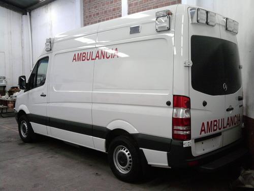 ambulancia tipo 2 mercedes benz 2017 nueva original kkk