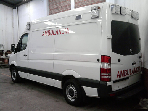 ambulancia tipo 2 mercedes benz 2018 nueva original kkk