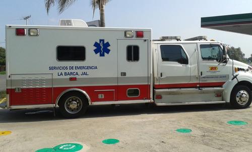 ambulancia tipo 9 mod 2007 turbo disel 7.3 lts tenencia 2016