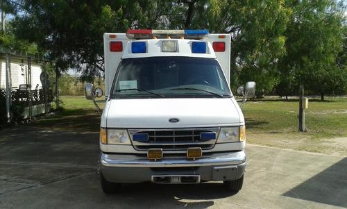 ambulancia tipo3 aero cab disel se entrega en mcallen texas