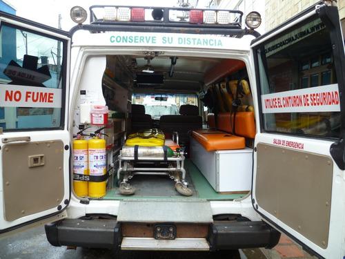 ambulancia toyota land cruiser t.a.b.