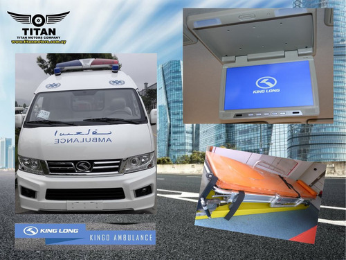 ambulancia traslados king long kingo 0 km