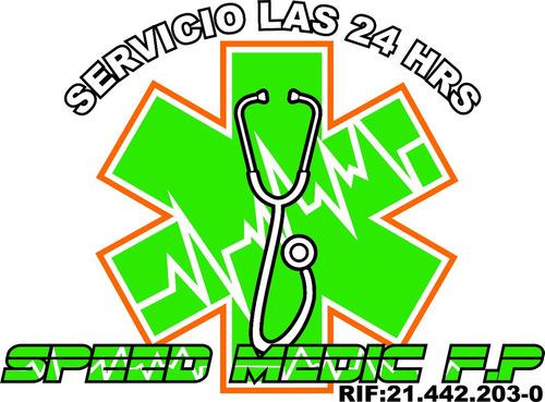 ambulancias 24 horas speed medic f.p