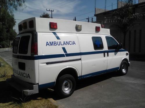 ambulancias chevrolet express años 2000