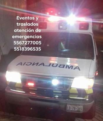 ambulancias emergencias y traslados