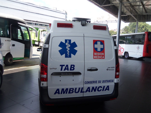 ambulancias mercedes-benz ambulancia tab