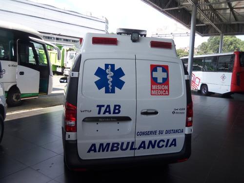 ambulancias mercedes-benz ambulancia tab vito 111