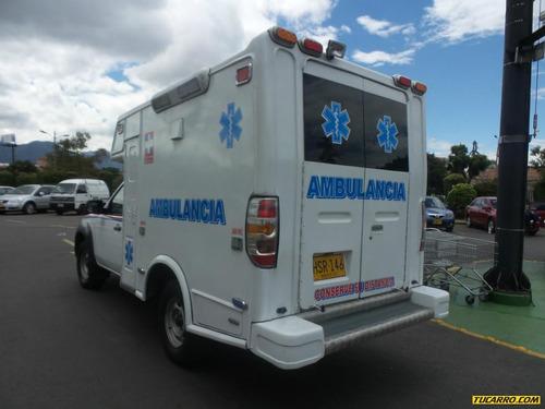 ambulancias otros  bt 50 4x4 turbo diesel