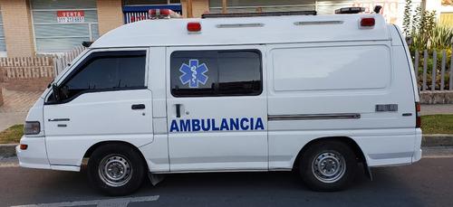 ambulancias otros mitsubishi l300 techo alto panel